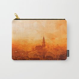 Amsterdam - City View Sunset Carry-All Pouch