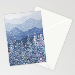 Mountain Lupine  Stationery Cards