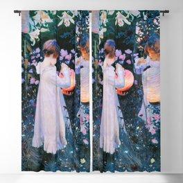 John Singer Sargent - Carnation, Lily, Lily, Rose Blackout Curtain