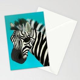 Color Pop Zebra Stationery Cards