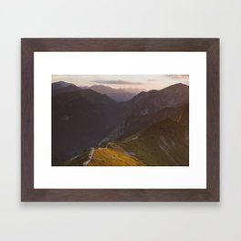 Before sunset - Landscape and Nature Photography Framed Art Print