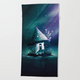 Magic Mush Room Beach Towel
