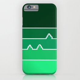 Green Landscape iPhone Case