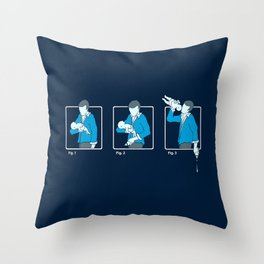 Mistake Throw Pillow