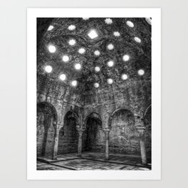Luces y sombras Art Print