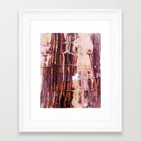 burgundy Framed Art Prints featuring Burgundy by Charlotte Chisnall
