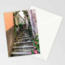Italian Cinque Terre Steps Stationery Cards