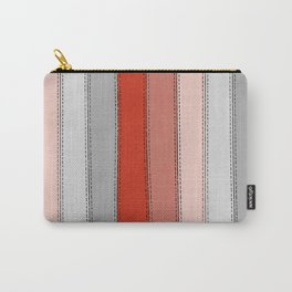 Red lines Carry-All Pouch