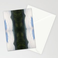 mountain flip Stationery Cards