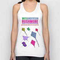 rushmore Tank Tops featuring Rushmore Movie Poster by FunnyFaceArt