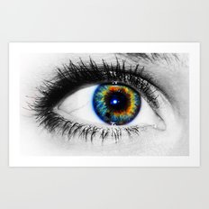 Sofies eye Art Print