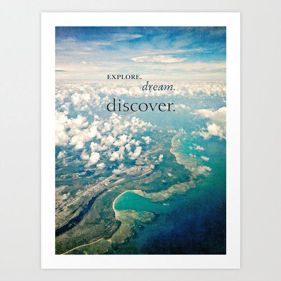 discover. Art Print