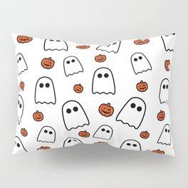 Halloween Ghosts And Pumpkins Pillow Sham