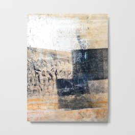 Accumulated Paint Metal Print