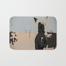 Chinese crested 5 Bath Mat