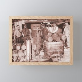 SGT. Leebrick, WVSP Framed Mini Art Print