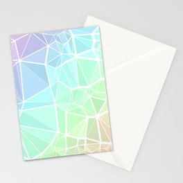 Rainbow Triangles Stationery Cards