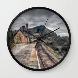 Berwyn Railway Station Wall Clock