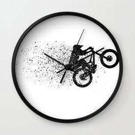 Ink Manual Wall Clock
