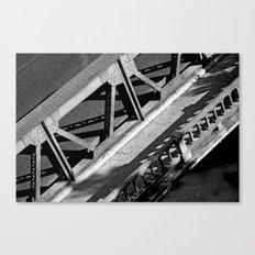 A bridge in San Antonio Canvas Print