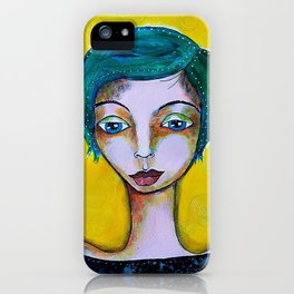 So blue iPhone Case