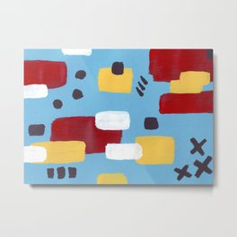 Abstraction pattern Metal Print