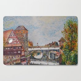 Nuremberg, Germany Cutting Board