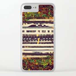 Discardtech (Words) Clear iPhone Case