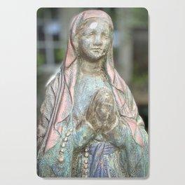 Our Lady of Lourdes Cutting Board