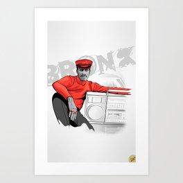 Grandmaster Flash - TrincheraCreativa Art Print