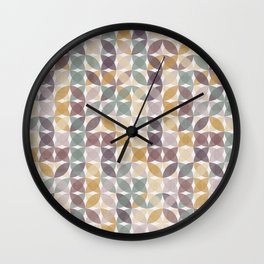 Stitching ispered pattern 1 Wall Clock