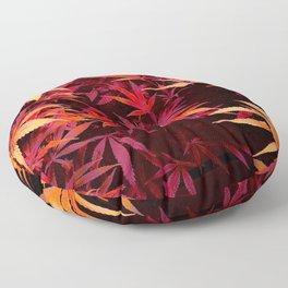 Fiery Pit of Cannabis Floor Pillow