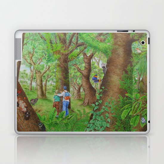 A Day of Forest (3). (Observe the tree) Laptop & iPad Skin