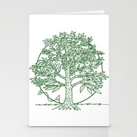 coasters Stationery Cards featuring Forest Lover's Tree by KimberlyVautrin