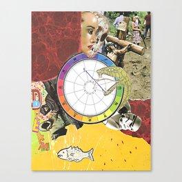 Piscean Dream Cycle Canvas Print