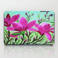 musa iPad Cases featuring Magnolias by maggs326