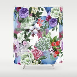 FLOWERS DAY Shower Curtain