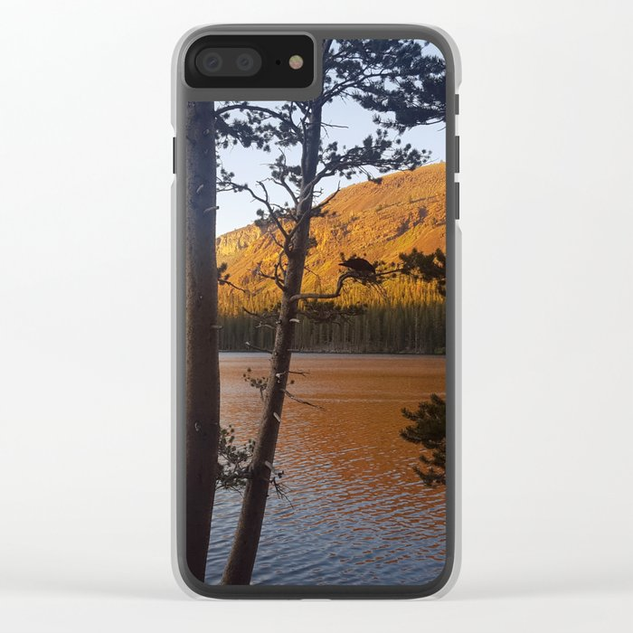 Mammoth #3 Clear iPhone Case