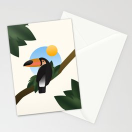 Jungle Toucan Stationery Cards
