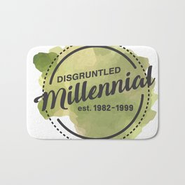 Disgruntled Millennial Pride Bath Mat