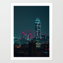 Building the Future Art Print