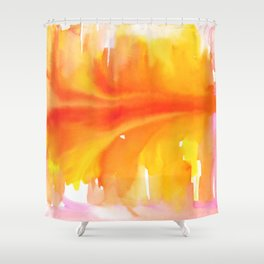 Blurred City Shower Curtain
