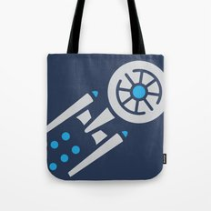 StarTrek USS Enterprise Abstract Pop-Art Tote Bag