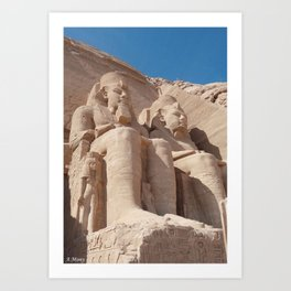 Abu Simbel Art Print