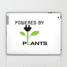 Powered by Plants Vegan Art Laptop & iPad Skin