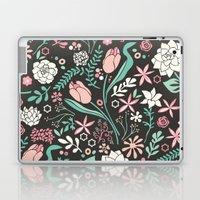 Tulip flowerbed Laptop & iPad Skin