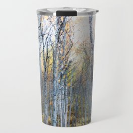 Silver Birches Travel Mug