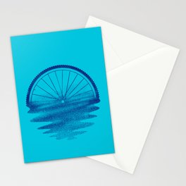 Blue Sunset Mystery Stationery Cards