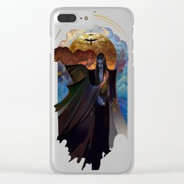 deny Clear iPhone Case