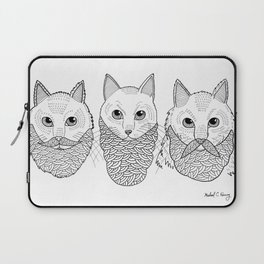 Cats With Beards Laptop Sleeve